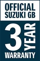 Suzuki 3 year warranty